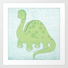 Dinosaur Series Print Art Print