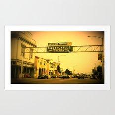 Castroville, California Art Print