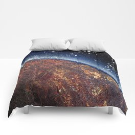 smoldering planet (Small Space 22) Comforters
