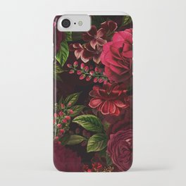 Mystical Night Roses iPhone Case