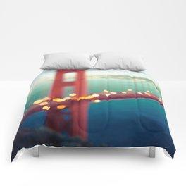 Meet Me In San Francisco Comforters