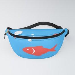 Pattern Fish Fanny Pack