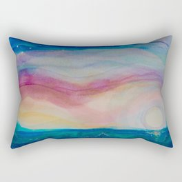 Moonlight Dancing Rectangular Pillow