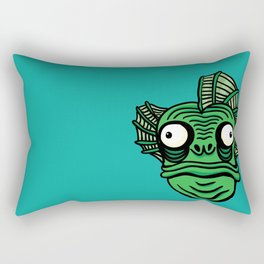 Swamp Monster Rectangular Pillow