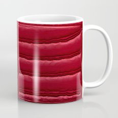 Abstract Red Quilt    Mug