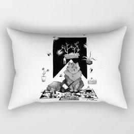 Merchant Cat Rectangular Pillow