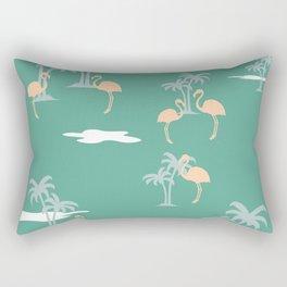 Coral Sands (green) Rectangular Pillow
