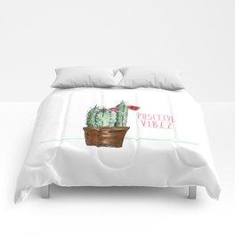 Positive Vibez Comforters