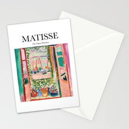 Matisse - The Open Window Stationery Cards