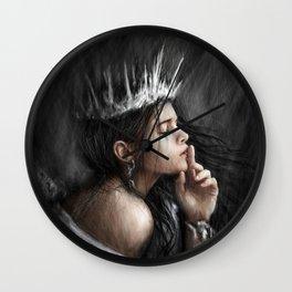Queen of Secrets Wall Clock