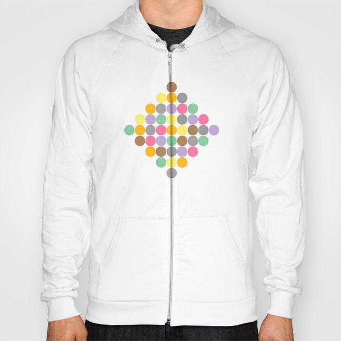 Candy Rounds White (Coal available too) Hoody