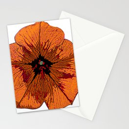 Gold Petunia Stationery Cards