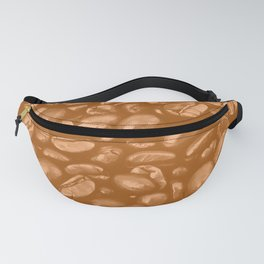roasted coffee beans texture acrcb Fanny Pack