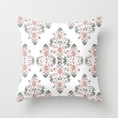 Tribe Floral Vibes Throw Pillow