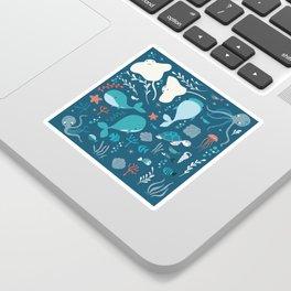 Sea creatures 004 Sticker