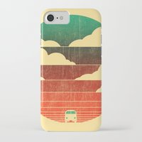 fashion iPhone & iPod Cases featuring Go West by Picomodi
