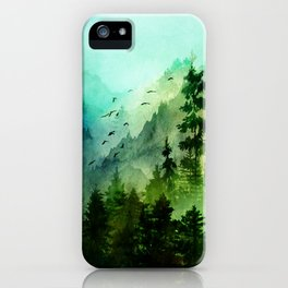 Mountain Morning iPhone Case