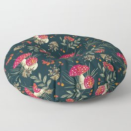 Colorful Forest 1A Floor Pillow