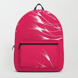 Beautiful pink weeds Backpack
