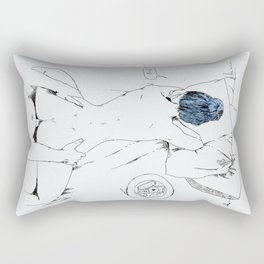 lovely breakfast Rectangular Pillow