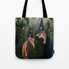 Trouble at the Magic Show Tote Bag