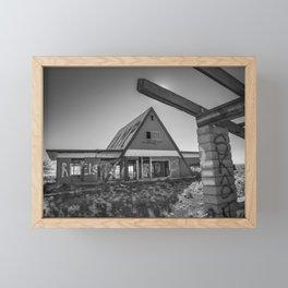 Desolate Diner Framed Mini Art Print