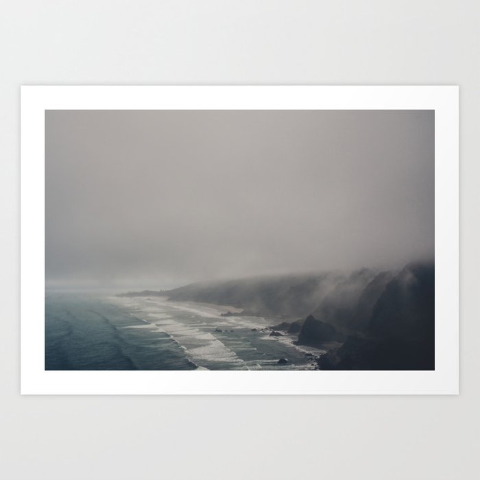 The Moody Days 6 Art Print