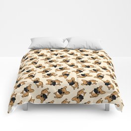 Fawn Frenchie Puppy Comforters
