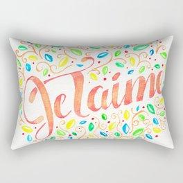 JE TAIME 01 Rectangular Pillow