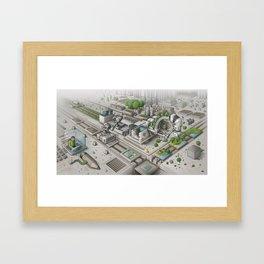Mi Factory Framed Art Print