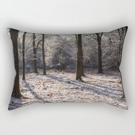 Hoar Frost Rectangular Pillow