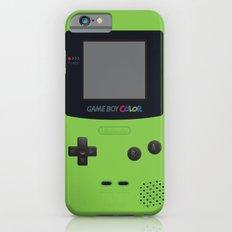 GAMEBOY Color - Green Slim Case iPhone 6