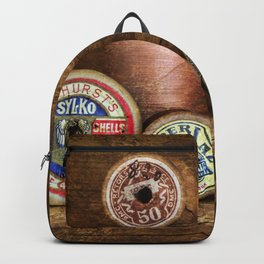 Old Cotton Bobbins Backpack