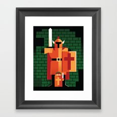 Dungeons & Darknuts Framed Art Print
