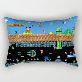 The Great Sprite Battle Rectangular Pillow