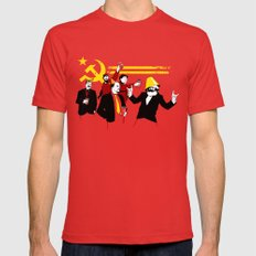 The Communist Party (original) Red Mens Fitted Tee LARGE