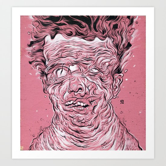 Vessel of Man Art Print