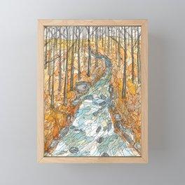 Eno River 39 Framed Mini Art Print