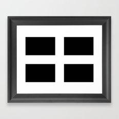 Flag of Cornwall Framed Art Print
