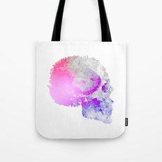 Low poly skull Tote Bag