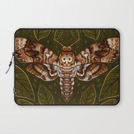 Deaths-Head Moth Laptop Sleeve