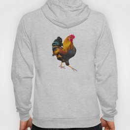 Fire Rooster. Symbol 2017 Hoody