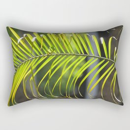 Palm Branch Leaf Rectangular Pillow