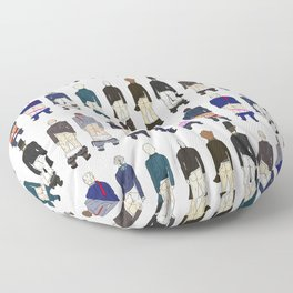 President Butts 2017 Row Floor Pillow