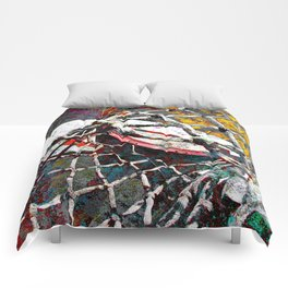 Modern Basketball Art Comforters