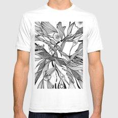love tree Mens Fitted Tee MEDIUM White