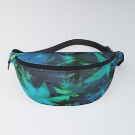 Candys Crazy Cannabis Camo 3 Fanny Pack