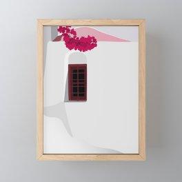 A Piece Of Greece Framed Mini Art Print