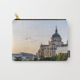 Almudena cathedral of Madrid Carry-All Pouch