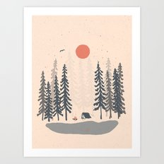 Feeling Small in the Morning... Art Print